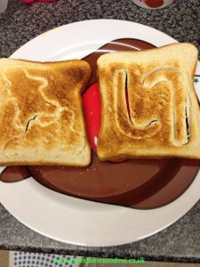 North Pole Toast