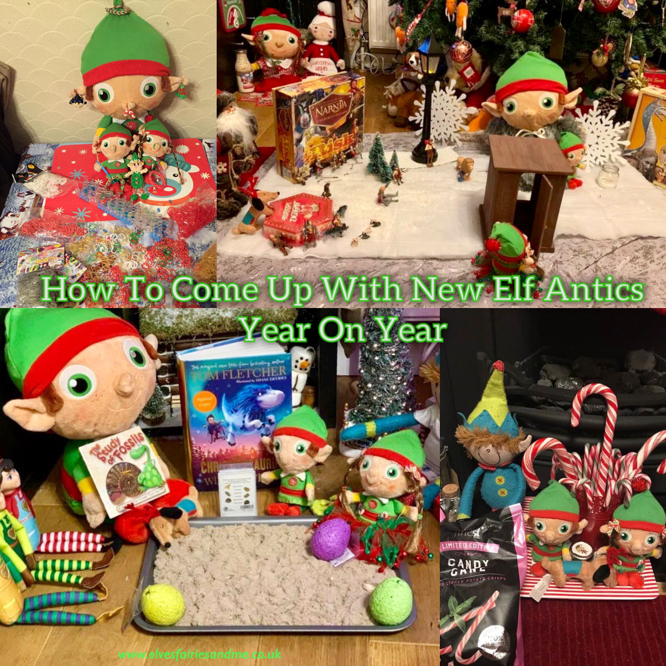 How To Come Up With New Elf On The Shelf Antics Year On Year