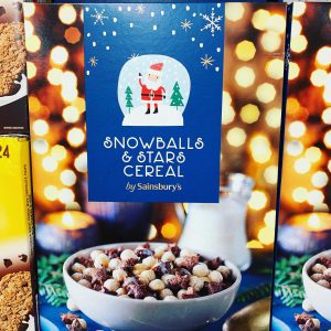 quick and easy North Pole Breakfast ideas. Christmas Cereal